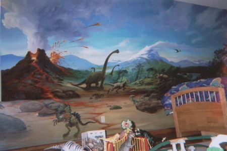 Dinosaur Room More Detailsand Creatures